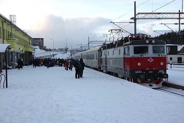 hurtigtog til stockholm