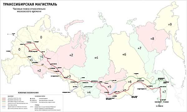 hvor mange tidszoner er der i rusland